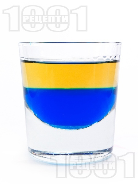 Коктейл Синя Текила - снимка на рецептата